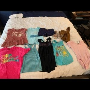 Girls 6/7 clothing lot